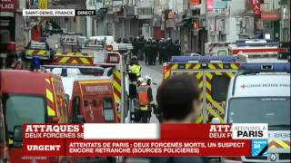 Assaut à Saint-Denis : Un suspect retranché dans un appartement - 2 morts