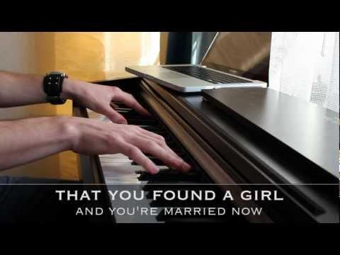 Someone Like You - Adele - Piano Karaoke with Lyrics