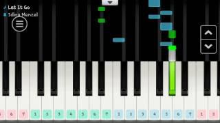 Let It Go ปล่อยมันไป Karaoke [Piano โอเกะ]