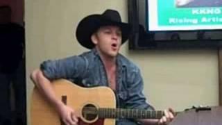 """Justin Moore at KKNG Radio """"Hank It"""""""