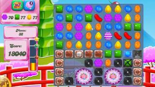 Candy Crush Saga Level 377 No Boosters