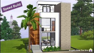 Mini Casa 30 - 8x8 - Modern Tiny House - The Sims 3
