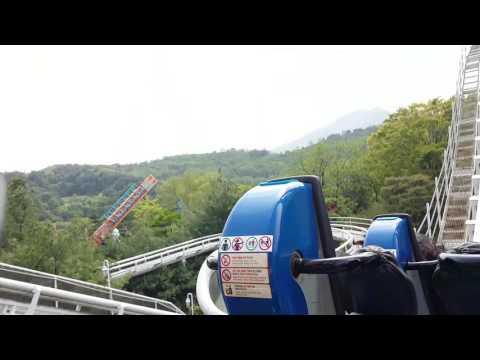 Rolling X-Train in #Everland Resort.