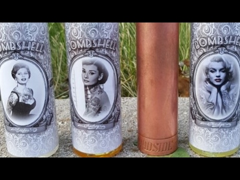Audrey, Marilyn and Sophia from the High Class Vape Co Bombshell line e-liquid review.