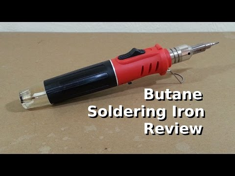 cheapo gas soldering iron review doovi. Black Bedroom Furniture Sets. Home Design Ideas