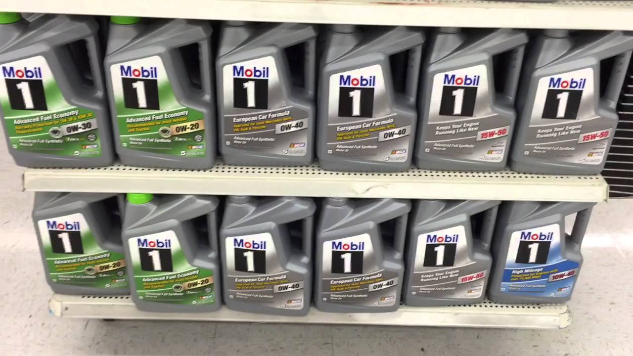 $22.88 Mobil 1 Full Synthetic Oil Rollback Price at ...