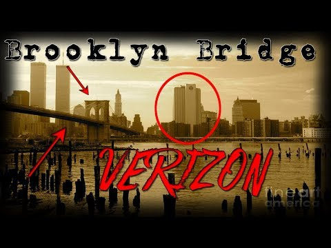 Mandela Effect: NEW YORK CITY: PART 3: The Brooklyn Bridge and VERIZON BUILDING