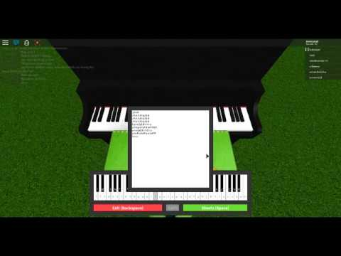 Charlie Puth See You Again On Roblox Piano Sheets In Desc Youtube