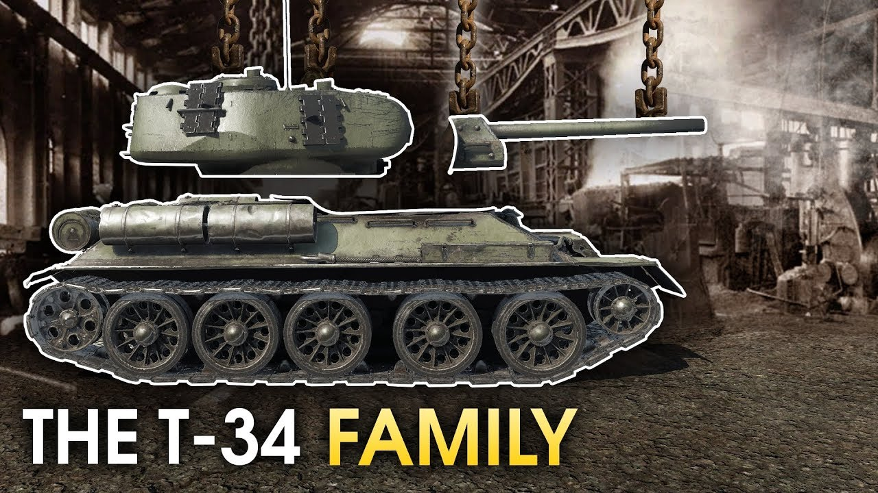 Download The T-34 Family / War Thunder