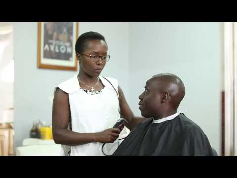 Kansiime the hair dresser. African comedy.