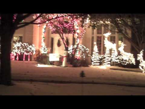 Holiday Lights - Naperville IL - part 1 & Holiday Lights - Naperville IL - part 1 - YouTube