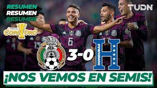 Resumen y goles | México 3-0 Honduras | Copa Oro 2021 - Cuartos