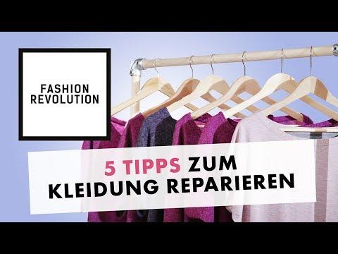 Fashion Revolution Week - 5 Tipps für langlebige Kleidung
