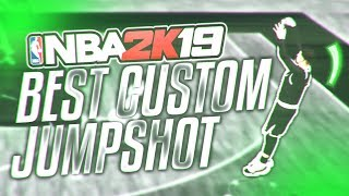 I FOUND THE BEST JUMPSHOT IN NBA 2K19! BEST CUSTOM JUMPER REVEALED!