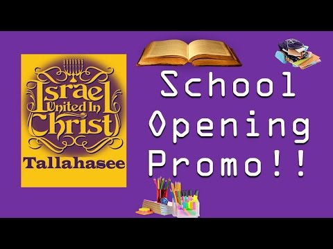 The Israelites: Tallahassee School Opening Promo!!!!