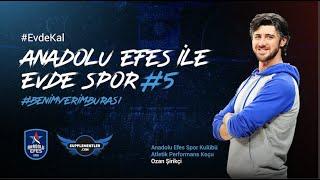 Supplementler Partnerliğinde Anadolu Efes ile Evde Spor #5