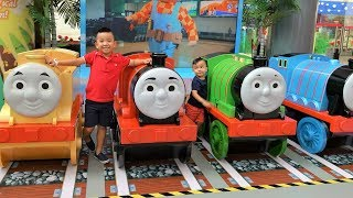 THOMAS The Tank Engine Indoor Theme Park Harold Helicopter Ride On Fun With CKN Toys
