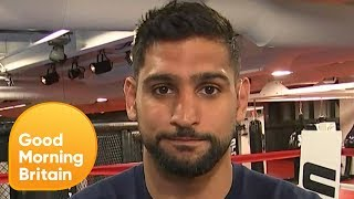 Amir Khan Has His Say on Mayweather vs McGregor | Good Morning Britain