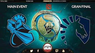 LIQUID vs NEWBEE - 1 -  Gran Final - THE INTERNATIONAL 7 - Viciuslab