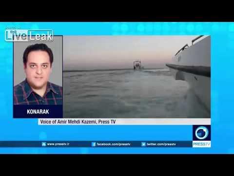 Iran warns US vessel,  jet to leave drills area