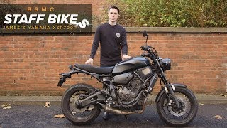 Staff Bikes: James' Yamaha XSR700