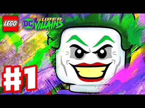 Lego DC Super-Villains - Full Game Walkthrough (Part 1)
