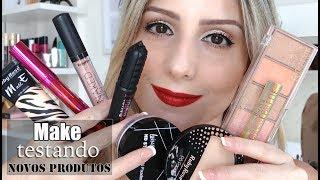 MAKE TESTANDO NOVOS PRODUTOS (maquiagem coringa)