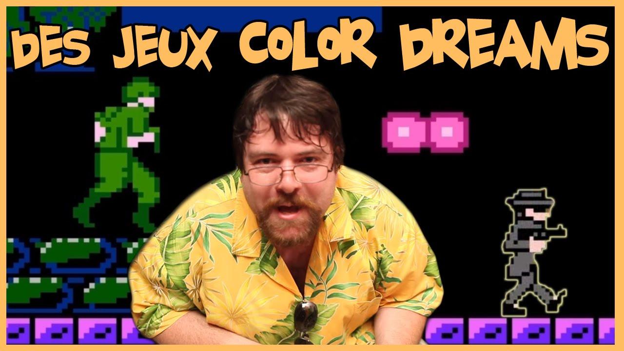 joueur du grenier des jeux color dreams nes youtube. Black Bedroom Furniture Sets. Home Design Ideas