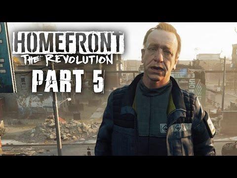 Homefront The Revolution Gameplay Walkthrough Part 5 - CRAWFORD