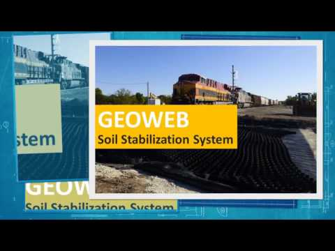 GEOWEB® Geocell Solutions For Rail, Intermodal & Ports