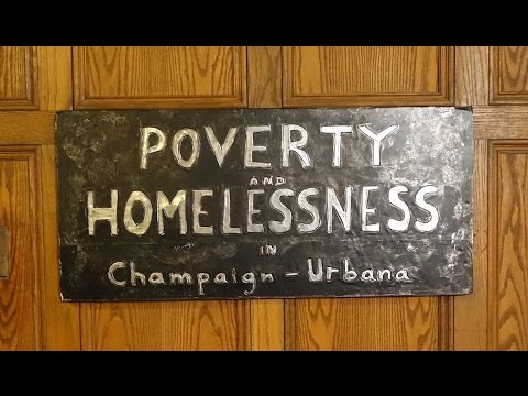 Bed Shoe Home: Poverty and Homelessness in Champaign-Urbana by Jane Gilmor
