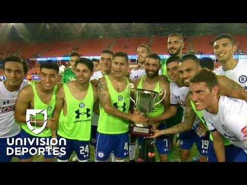 Cruz Azul levantó su primera copa del 2017