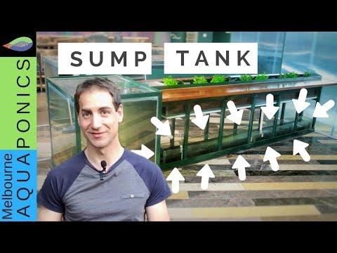 sump tank in aquaponics