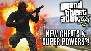 GTA V PC | NEW CHEATS & SUPER POWERS?! (DIRECTOR MODE RAMPAGE)