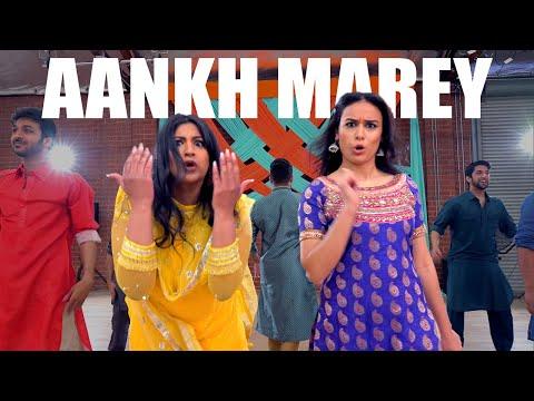 """AANKH MAREY"" - Bollywood Wedding Dance |SANGEET CHOREO by Shivani & Chaya| Neha Kakkar, Mika Singh"