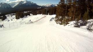 Snow cross à Lac Louise