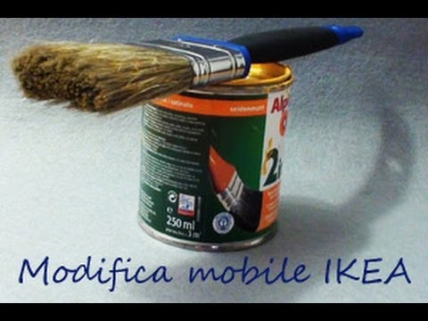 Vetrinetta Credenza Ikea : Modifica mobile ikea diy youtube