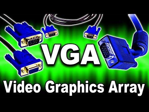 VGA (Video Graphics Array) Analog Interface / D-SUB Explained | VGA / D-SUB Graphics Card Interfaces