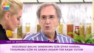 Huzursuz Bacak Sendromu için Kür Tarifi - Prof. Dr. İbrahim Adnan Saraçoğlu