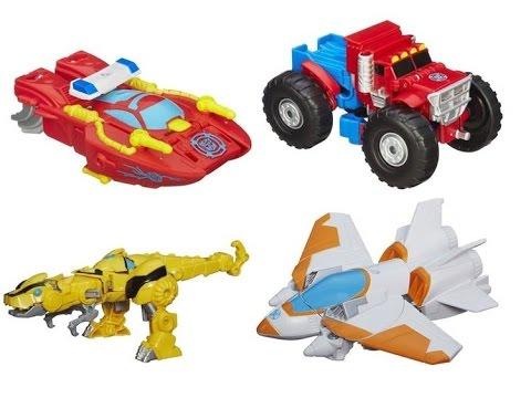Transformers Rescue Bots Rescan Series 03 Optimus Prime