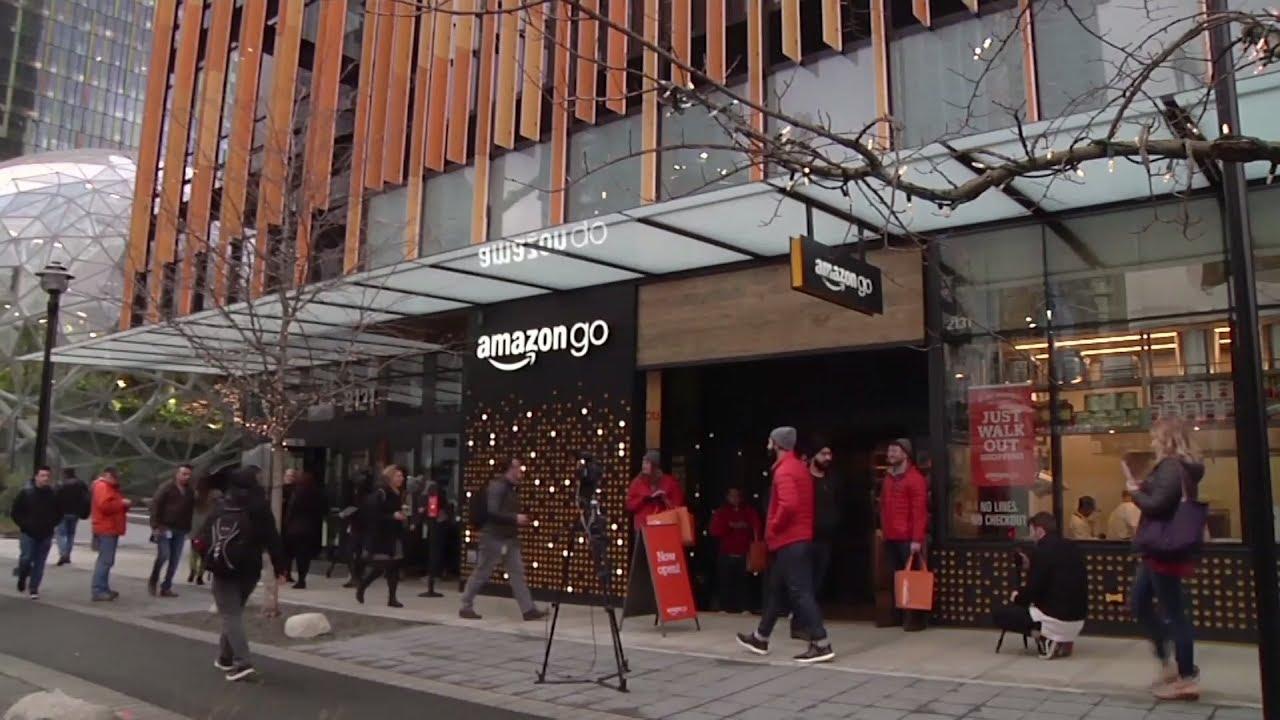 319bb63c735a3f Магазин будущего: Amazon открыла первый супермаркет без касс и продавцов