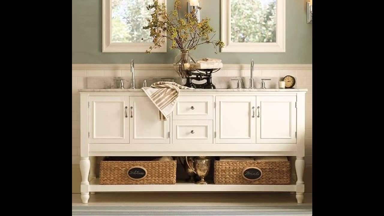 Beach themed bathroom design ideas - YouTube