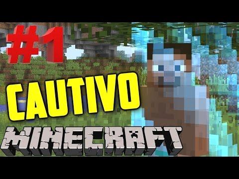 Encerrado con las Vacas (͡° ͜ʖ ͡°)   Minecraft Cautivo #1