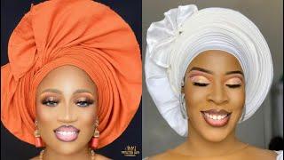 Nouvelle création foulard gelé nigérian  (by Adjia makeup )