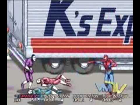 Superhero Arcade Games: Part I - Spider-Man & Superman - videomasterstv.com