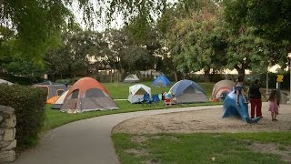Camping Out In Garden Grove