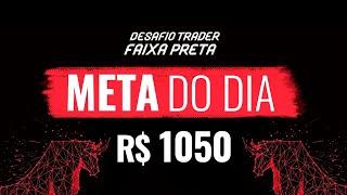 Day Trade - DESAFIO TRADER FAIXA-PRETA I 20-03-2020