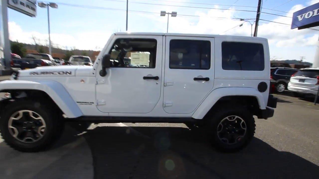 2016 jeep wrangler unlimited rubicon | white | gl180019 | mt