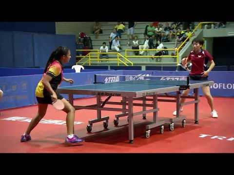 2017 ITTF Pan American Championships - Women's Singles Final