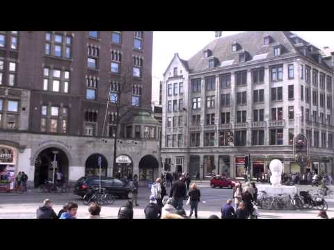 Amsterdam: Damrak and Dam Square